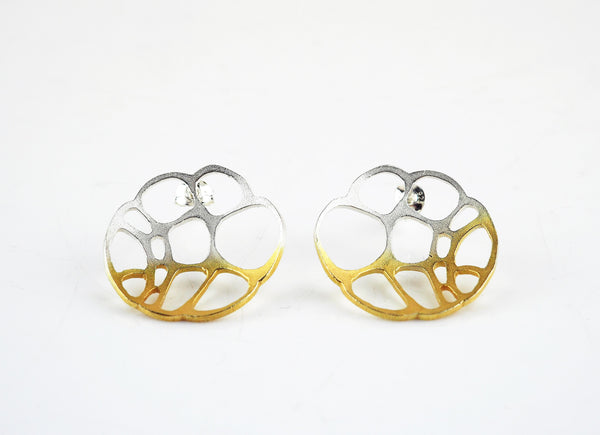Ankers, Melanie – Lacewing Circle Stud Earrings | Melanie Ankers | Primavera Gallery