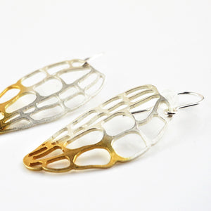 Ankers, Melanie – Medium Lacewing Earrings | Melanie Ankers | Primavera Gallery