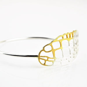 Lacewing Bangle | Melanie Ankers | Primavera Gallery