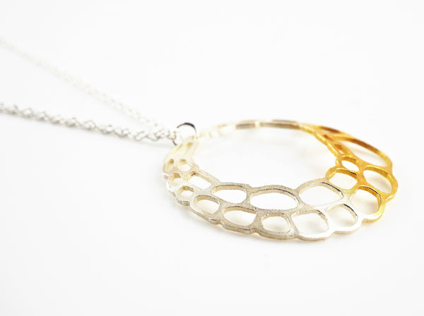 Ankers, Melanie – Lacewing Hollow Circle Pendant | Melanie Ankers | Primavera Gallery