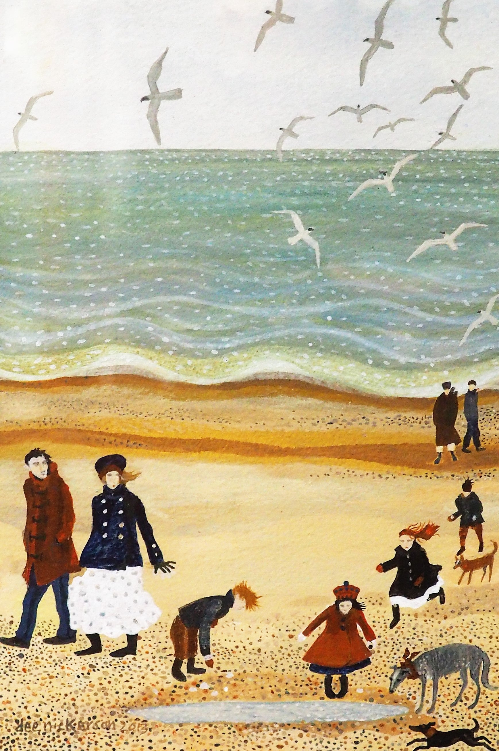 Nickerson, Dee – Rockpools | Dee Nickerson | Primavera Gallery