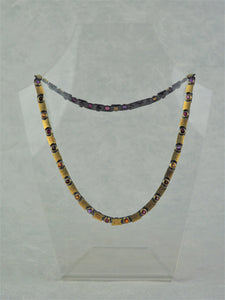 Klosowski, Kai - Oxidised Silver and 22ct Gold Necklace