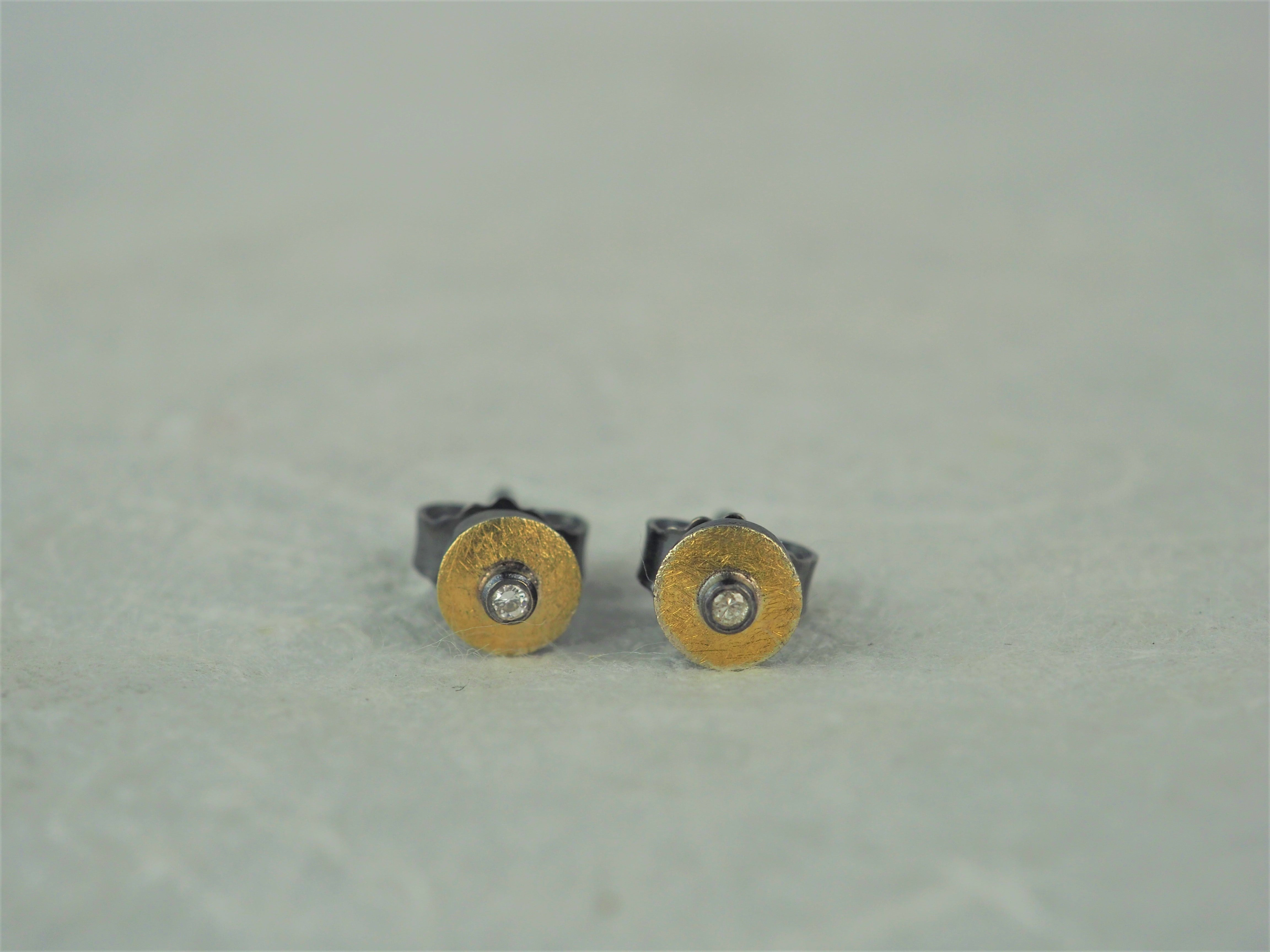 Klosowski, Kai - 22ct Gold and Diamond Studs