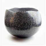 Roberts, David – 'Ripple' Raku Ceramic Vessel