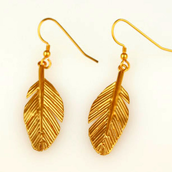 Faulkner-Dunkley, Karen – Large Gold Earrings | Karen Faulkner - Dunkley | Primavera Gallery