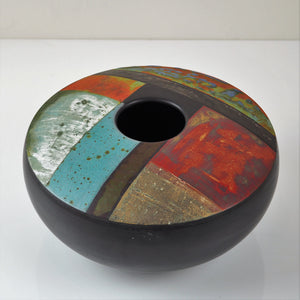 Laverick, Tony – Signed Multicoloured Vessel | Tony Laverick | Primavera Gallery