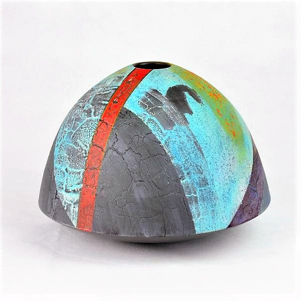 Laverick, Tony – Vessel with Multi-layered Glazes | Tony Laverick | Primavera Gallery