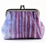 Clay, Liz – Purple Felt Purse | Liz Clay | Primavera Gallery