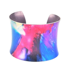 Multi-Coloured Anodised Aluminium Bangle | Miranda Peckitt | Primavera Gallery