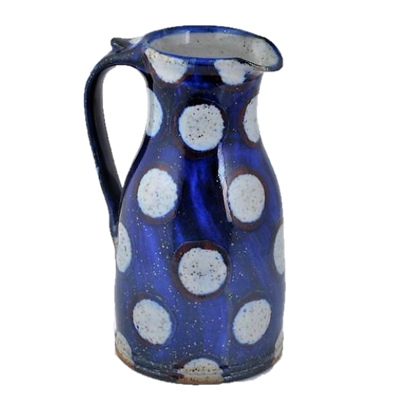 Goldsmith, Robert – White Spotted Medium Jug | Robert Goldsmith | Primavera Gallery
