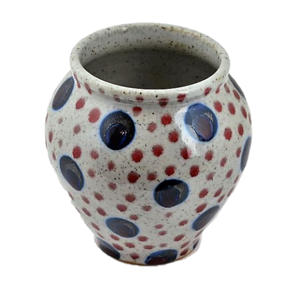 Goldsmith, Robert – Small Spotty Vase | Robert Goldsmith | Primavera Gallery