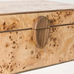 Pearce, Jonathan – Poplar Oak Jewellery Box | Jonathan Pearce | Primavera Gallery