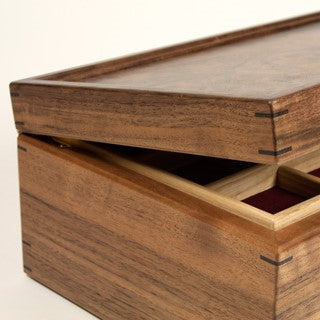 Pearce, Jonathan – Walnut Jewellery Box | Jonathan Pearce | Primavera Gallery