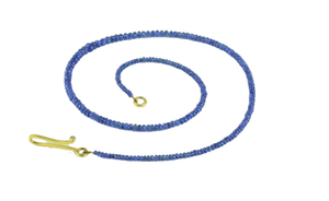 Betts, Malcolm – Faceted Blue Sapphire Necklace | Malcolm Betts | Primavera Gallery