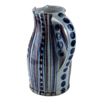Large Jug with Red, Blue and Green Glaze | Robert Goldsmith | Primavera Gallery