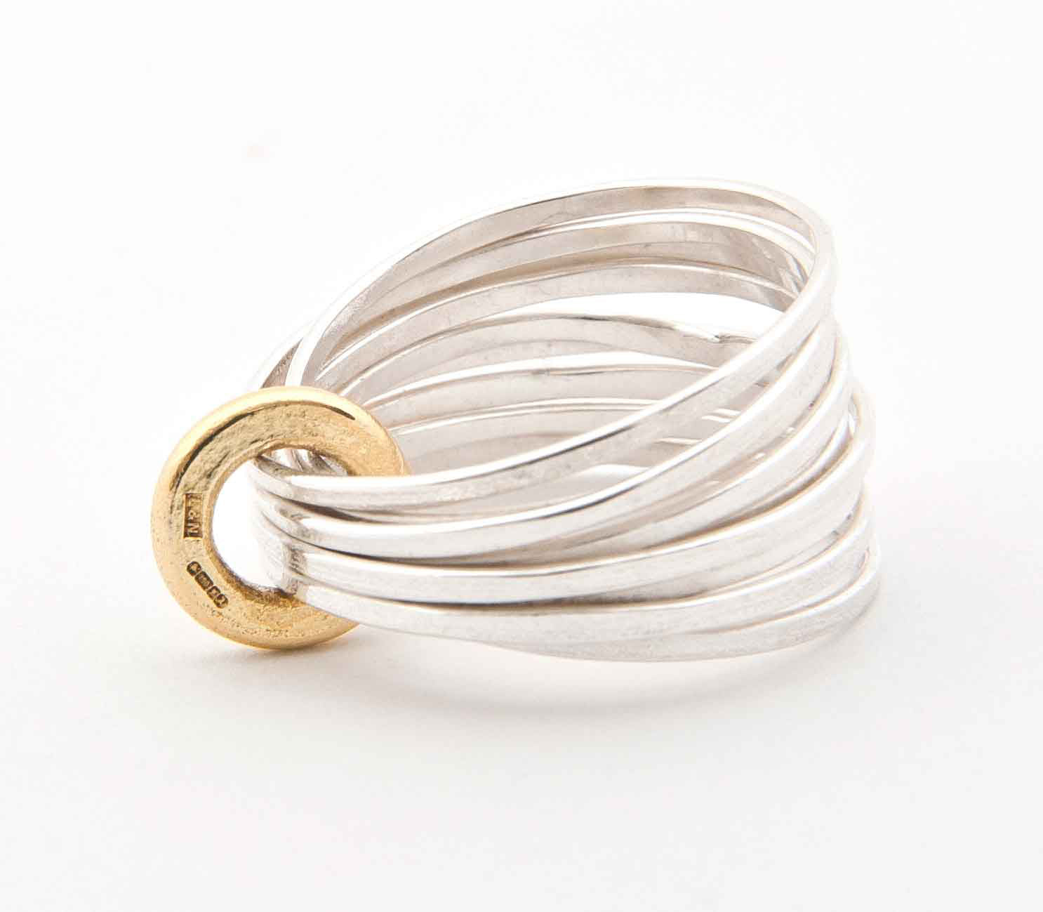 Latham and Neve – Silver Multi Ring | Latham & Neve | Primavera Gallery