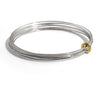 Gold and Silver Multi Ripple Bangle | Latham & Neve | Primavera Gallery