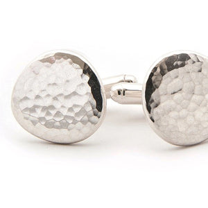 Ripple Pebble Cufflinks | Latham & Neve | Primavera Gallery