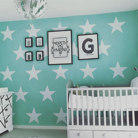 large star wall stickers