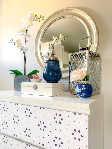 How To Easily Revamp Tired Furniture with Nutmeg Furniture Stickers
