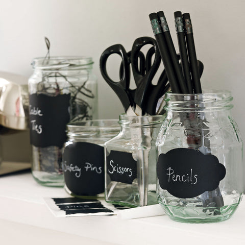 Chalkboard Labels Stickers