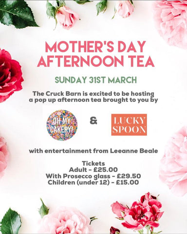Mother's day Afternoon Tea by Oh My Cakery