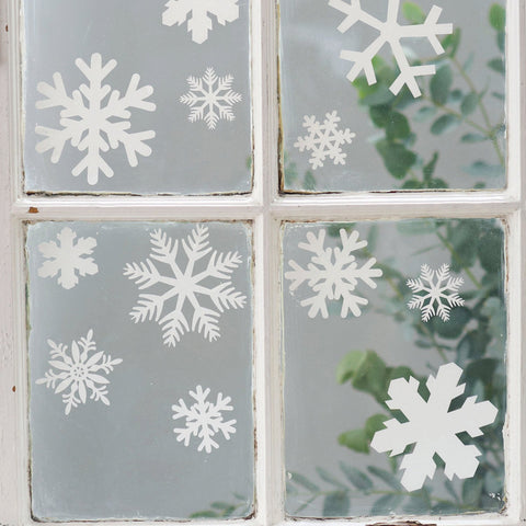 Snowflake Christmas wall sticker