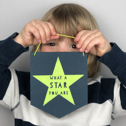 What A Star You Are sign