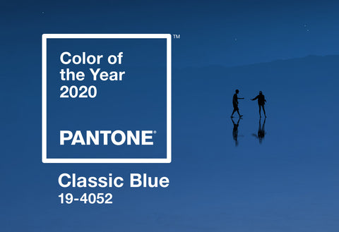Pantone colour of the year 2020 classic blu for your home