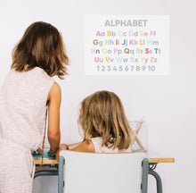 Alphabet Homeschool A3 Poster