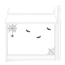 Spider and Cobweb Halloween Retail Vinyl set