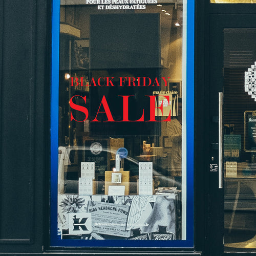 Classic Black Friday Sale retail window vinyl