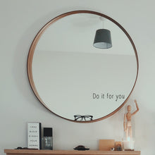 Do It For You Mirror Sticker Quote