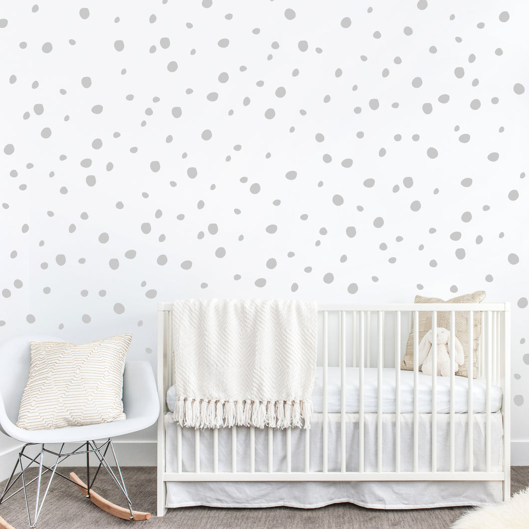 Doodle dots wall sticker