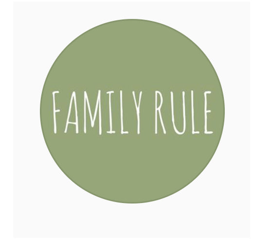 Bespoke for The Family Rule - Single Stencil