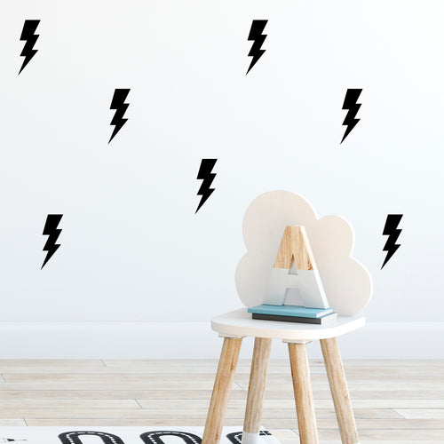 Lightening Bolts Wall Stickers
