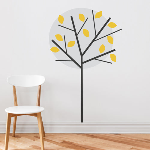 Moonlight Tree Wall Sticker