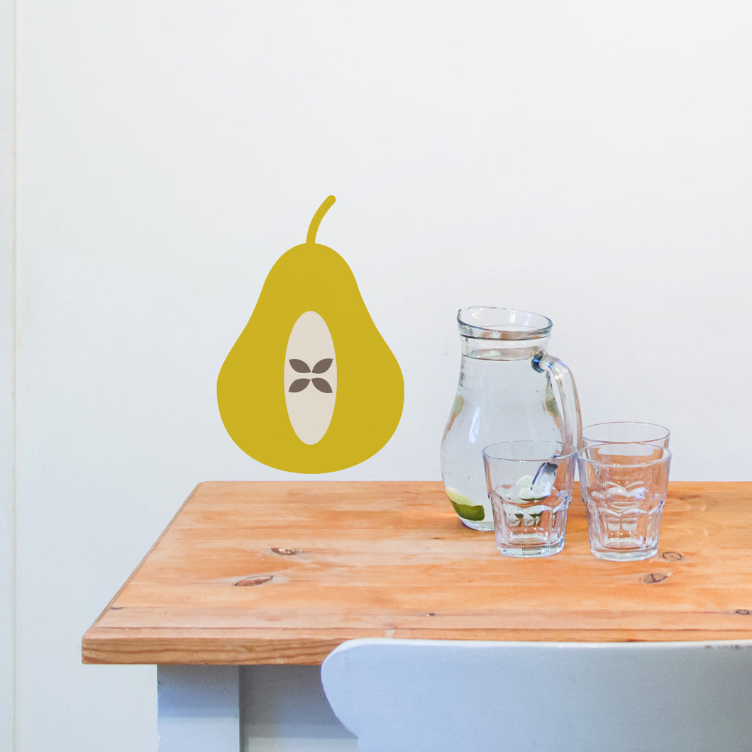 Pear Wall Sticker
