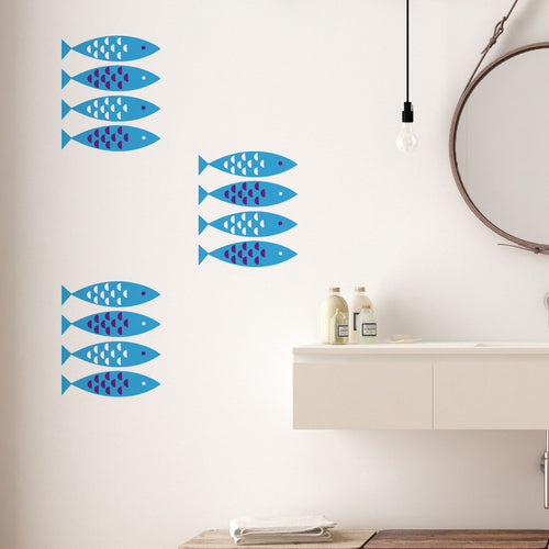 Newlyn Fish Wall Stickers