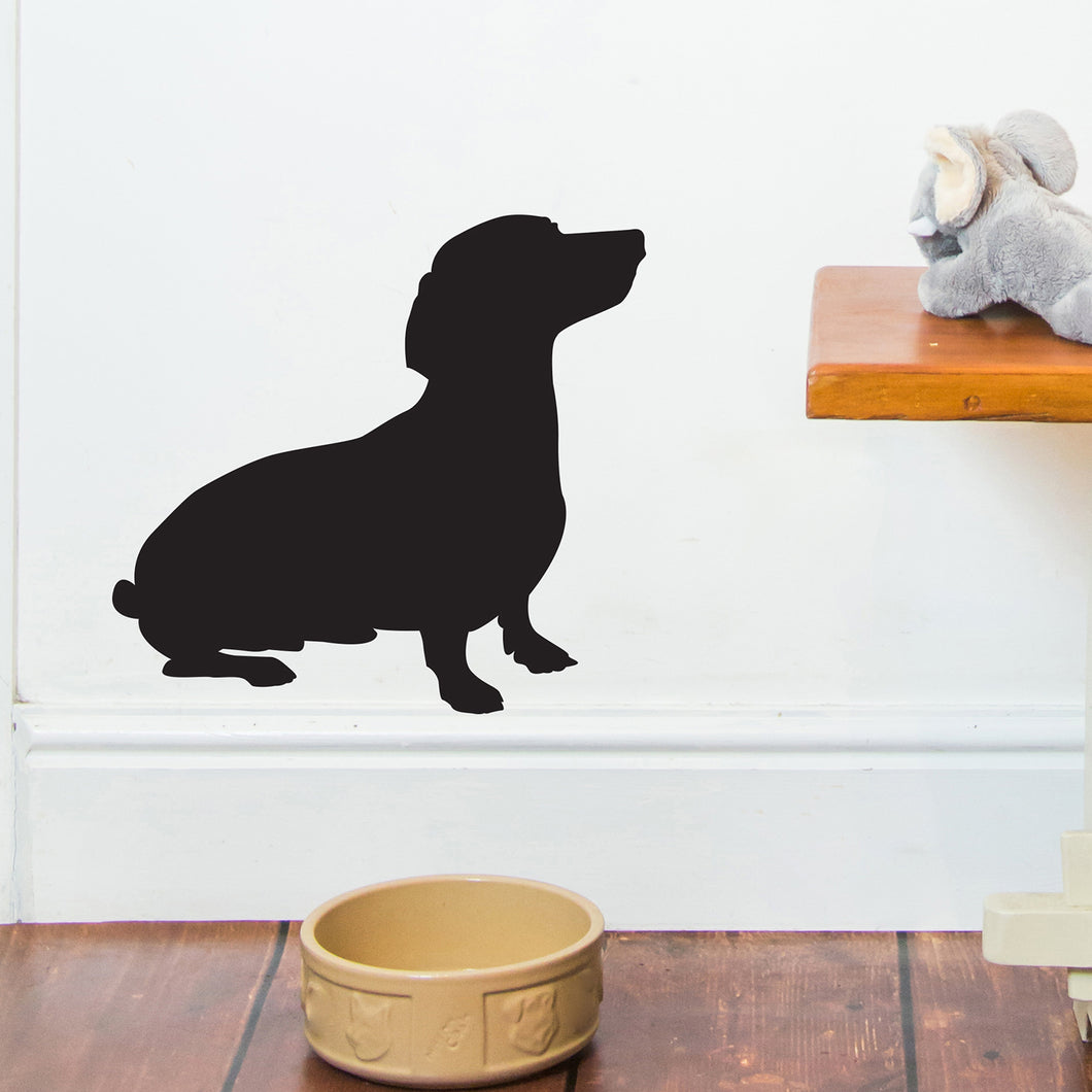 Sausage Dog Wall Sticker