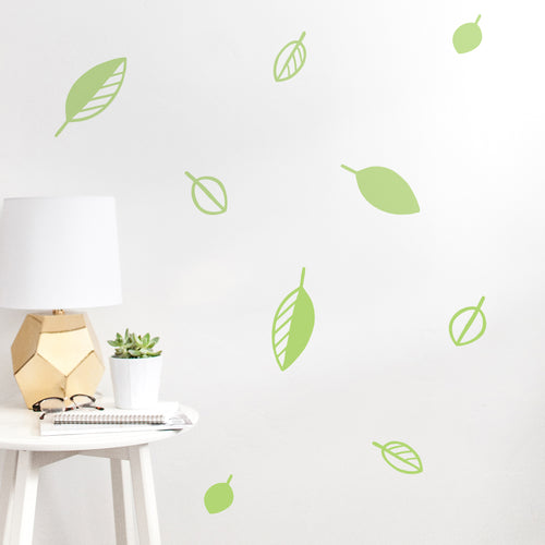 Scatter Leaves Wall Stickers