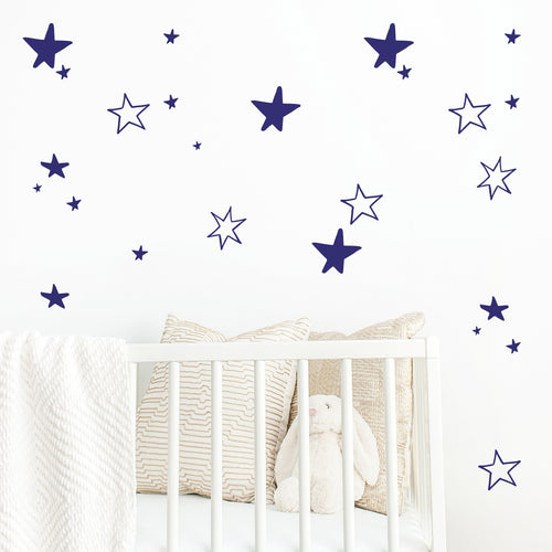 Starry Stars Wall Stickers