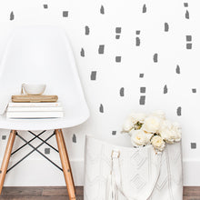 Brush Strokes Wall Stickers