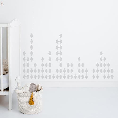 Scatter Diamonds Decorative Wall Stickers