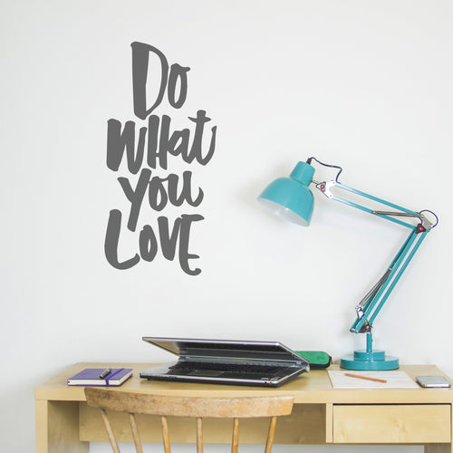 Ellen Waldren 'Do what you Love' Wall Sticker