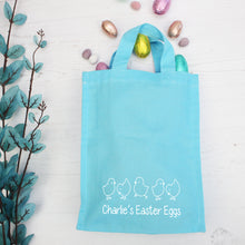 Personalised Mini Easter Chick Tote Bag