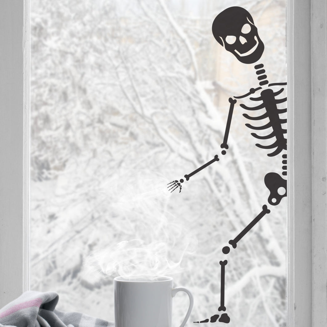 Wall Stickers Halloween Skeleton
