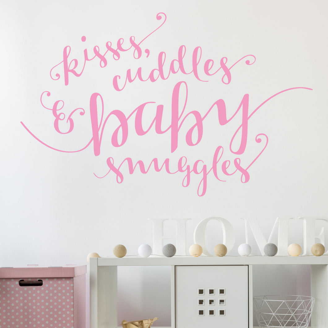 Wall Sticker Kisses and Cuddles