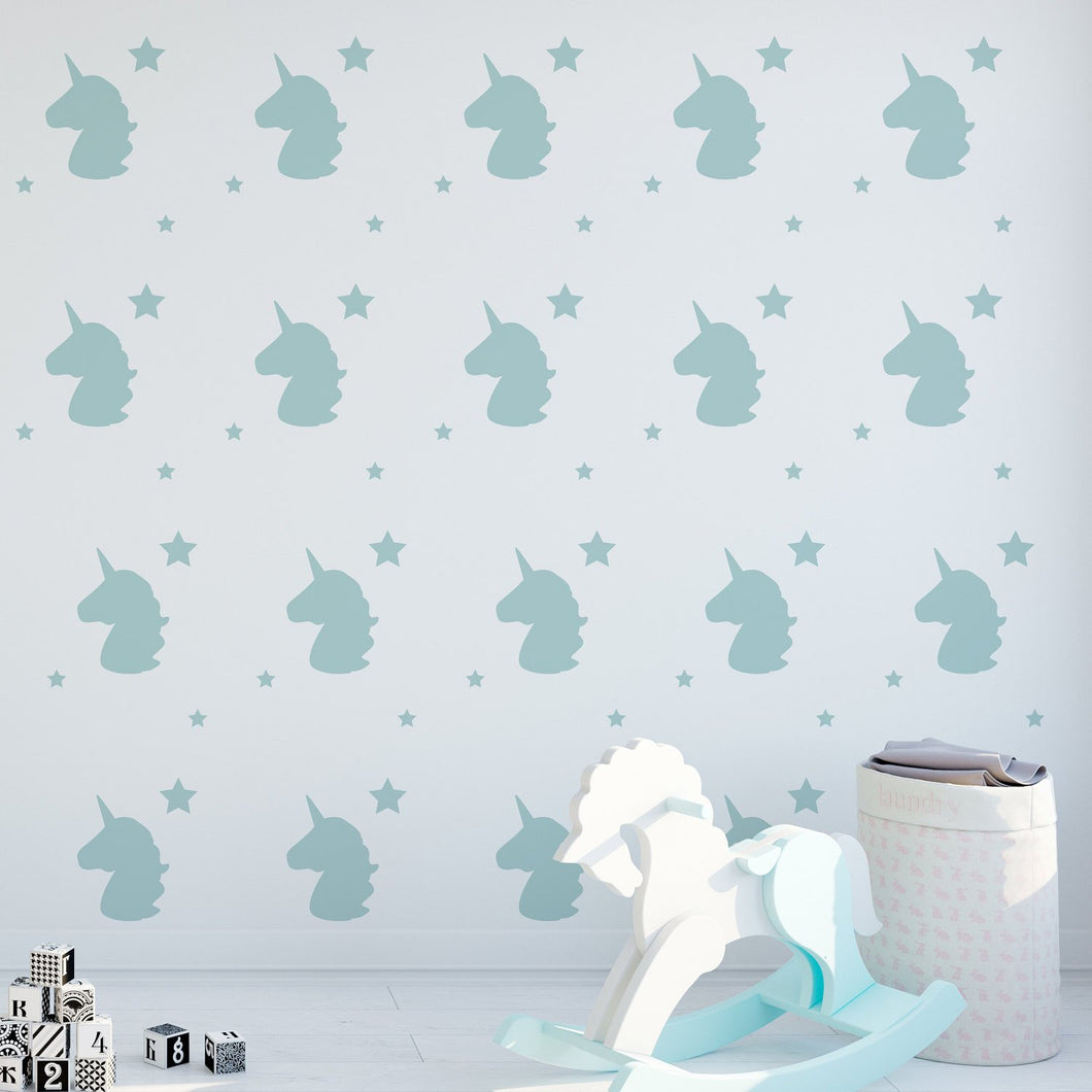 SALE - Uicorn Wall Stickers - GOLD