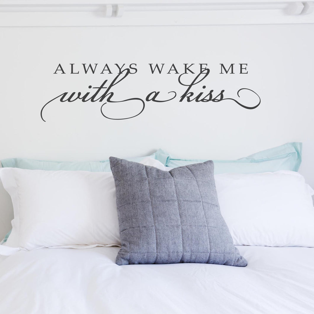 Wall Sticker Wake me with a kiss